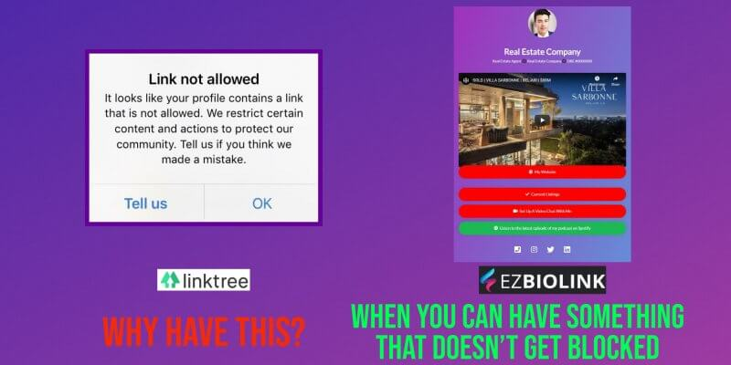 Stop Getting Your Linktree Blocked